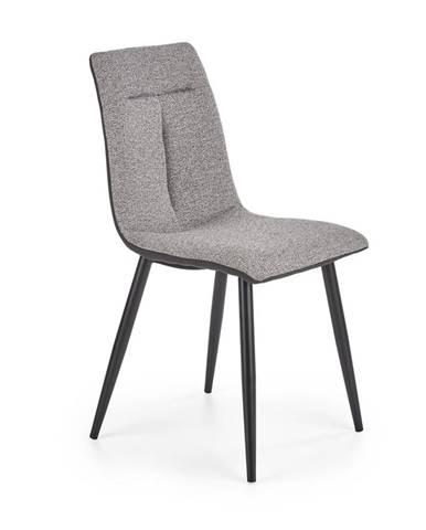 Jídelní židle K-374, šedá