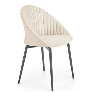 Jídelní židle K-357, béžová