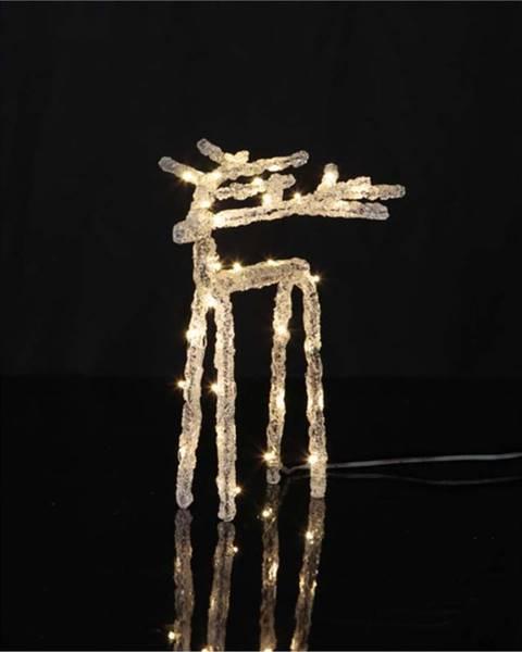Star Trading Světelná LED dekorace Star Trading Deer, výška 20 cm