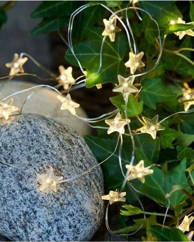 Světelný LED řetěz Sirius Trille Silver, délka 390 cm
