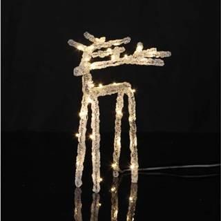 Světelná LED dekorace Star Trading Deer, výška 20 cm