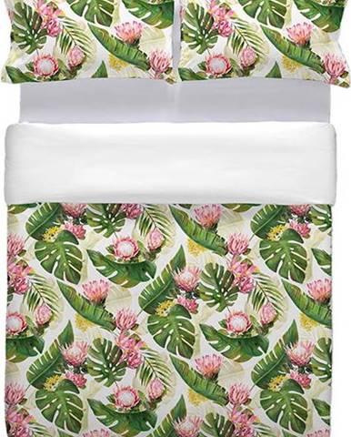 Bavlněné povlečení na přikrývku Marghett Protea, 220 x 220 cm