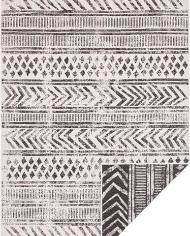Černo-krémový venkovní koberec Bougari Biri, 200 x 290 cm