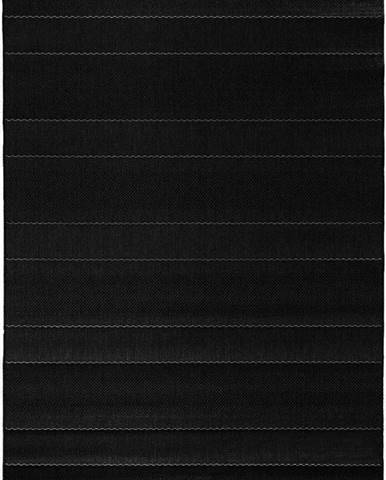 Černý koberec vhodný i na ven Hanse Home Sunshine, 200 x 290 cm