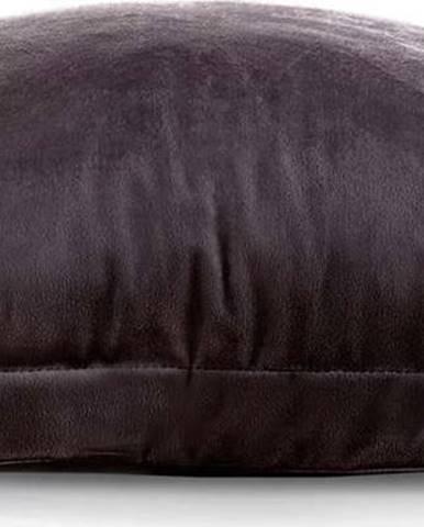 Sada 2 tmavě hnědých povlaků na polštář AmeliaHome Side,45x45cm