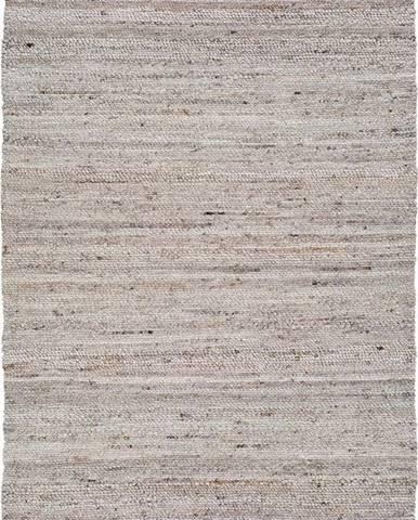 Světle béžový koberec z recyklovaného plastu Universal Cinder, 160 x 230 cm