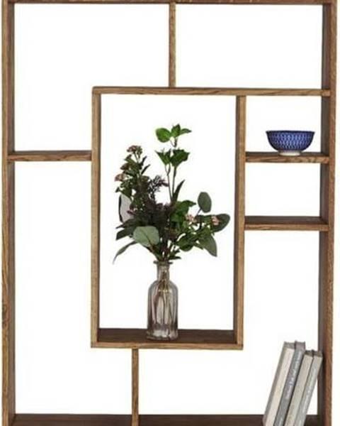 Kare Design Knihovna ze dřeva sheesham Kare Design Regal Attento, výška 190 cm