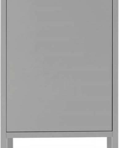 Šedá skříň Tenzo Uno, šířka 40cm