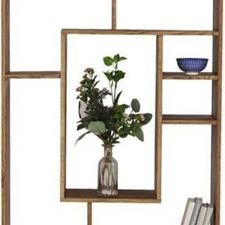 Knihovna ze dřeva sheesham Kare Design Regal Attento, výška 190 cm