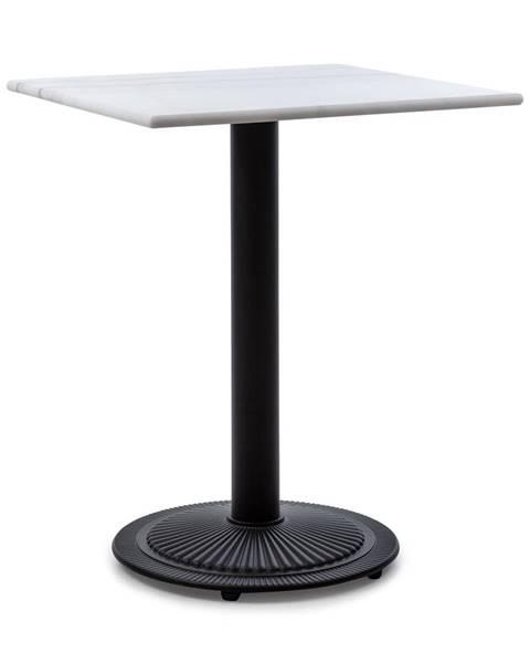 Blumfeldt Blumfeldt Patras Onyx, bistro stolek, secesní styl, mramor, 60x60cm, v: 72cm, kulatý