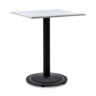 Blumfeldt Patras Onyx, bistro stolek, secesní styl, mramor, 60x60cm, v: 72cm, kulatý