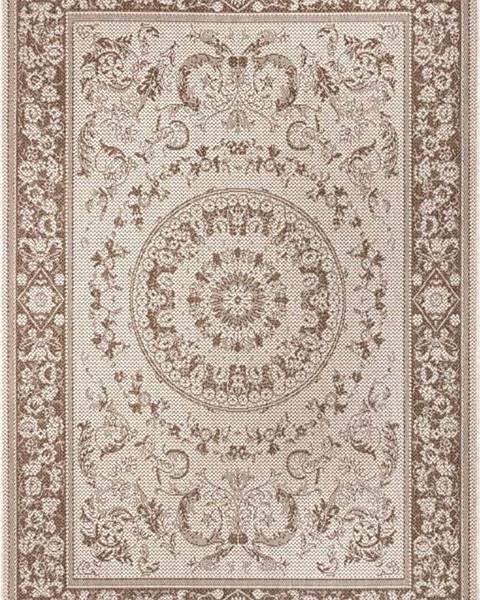 Ragami Hnědo-béžový venkovní koberec Ragami Prague, 80 x 150 cm