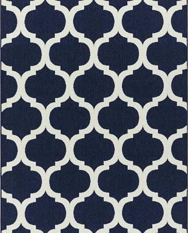 Modrý koberec Asiatic Carpets Antibes, 80 x 150 cm
