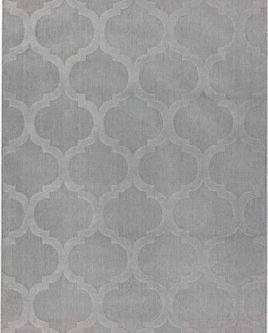 Šedý koberec Asiatic Carpets Antibes, 80 x 150 cm