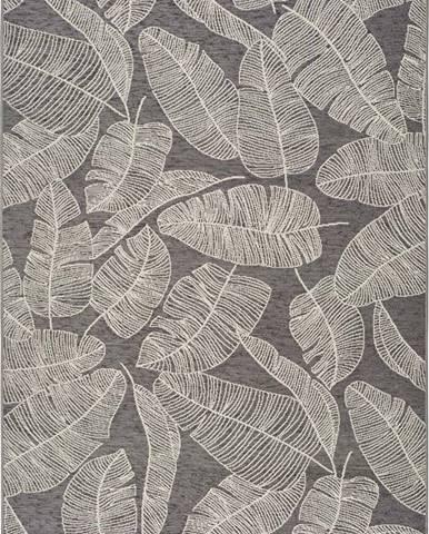 Šedý venkovní koberec Universal Norberg, 120 x 170 cm