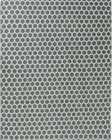 Zeleno-bílý koberec House Nordic Narbonne, 140 x 200 cm