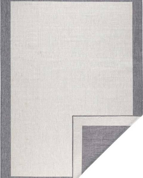 Bougari Šedo-krémový venkovní koberec Bougari Panama, 160x230 cm