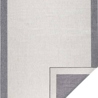Šedo-krémový venkovní koberec Bougari Panama, 160x230 cm
