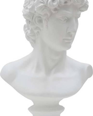 Bílá dekorativní soška Mauro Ferretti Roman