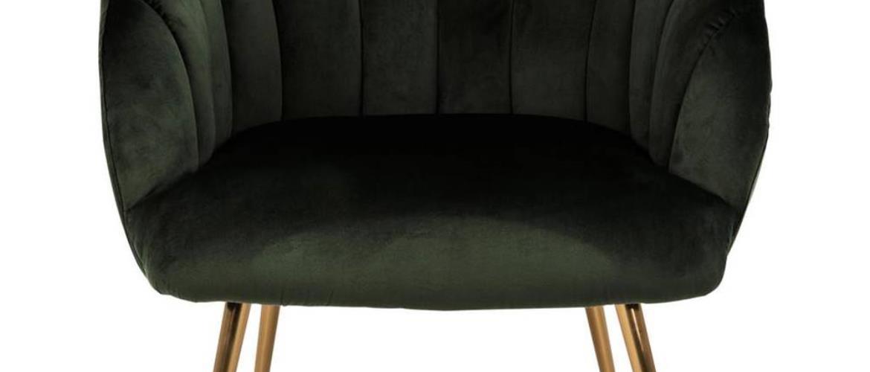 Lounge Křeslo Daniella Tmavě Zelená